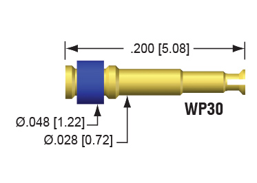 050-16 Wire Plugs