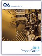 QA technology 2018 Probe Guide includes detailed specifications for spring loaded probes, probe tips and tools